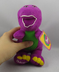 barney plush doll love song dinosaur