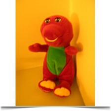 10 Barney The Dinosaur Plush Doll