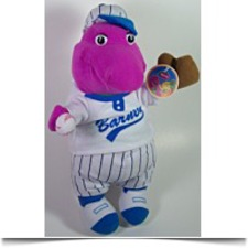 Buy 11 The Purple Dinosaur Baseball Plush
