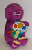 barney best manners singing plush stuffed