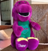 barney dinosaur original love singing plush