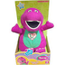 love barney plush cuddle doll press