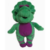 barney plush doll mini pals