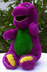 barney doll plush lovable original dinosaur