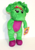 barney plush singing love inches most