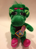 barney dinosaur plush she's tall indonesia