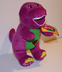 barney plush singing love song fuchsia