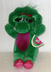 barney dinosaur item plush stuffed doll