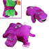 barney dinosaur plush pillow friend doll