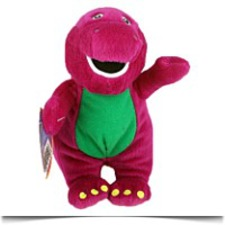 Buy Barney 8 Barney Plush Doll