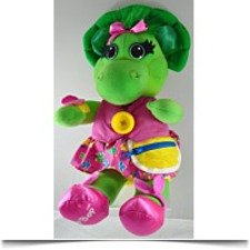 Barney Dinosaur Talk And Dress Baby Bop