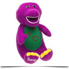 Barney Love N Lights Hearts Barney