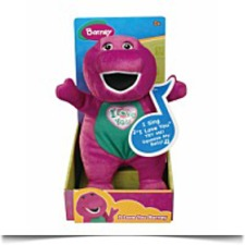 Barney Singing I Love You Song Plush