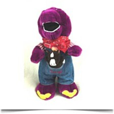 Buy Barney The Dinosaur Farmer Barney Plush