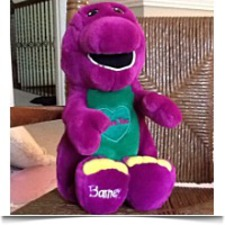 Buy Barney The Dinosaur Original 1992 I Love