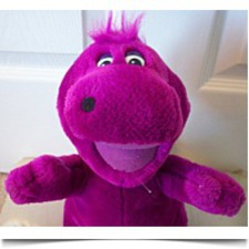 Buy Barney With Purple Hair