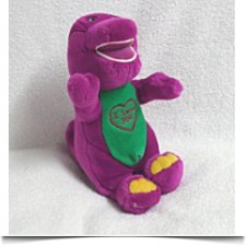 Buy I Love You Singing Plush Barney The Dinosaur