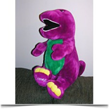 Buy Large 26 Jumbo Plush Barney The Dinosaur