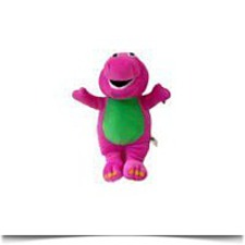 My Dinosaur Pal 15 Barney Plush Toy