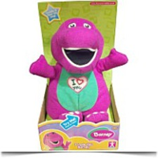 Specials Plush I Love You Singing Barney 11