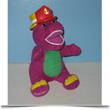 Buy Silly Hats Barney The Dinosaur Musicalanimated