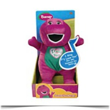 Singing I Love You Song Barney Plush