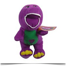 Specials Tv Barney Dinosaur Purple 25CM Soft Stuffed
