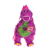 cute purple plush barney doll packback
