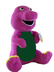 lovely barney plush doll