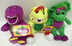 singing barney friends plush doll featuring