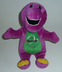 barney talking singing plush doll