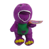 barney dinosaur purple soft stuffed plush