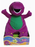 Barney 12 Huggable Friend Barney Plush