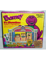 Barney Its Showtime Puppet And Theater