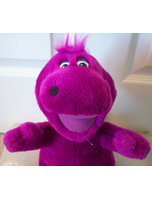 Barney With Purple Hair